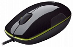 Мышь Logitech LS1 acid-yellow Laser USB RTL (10/350)